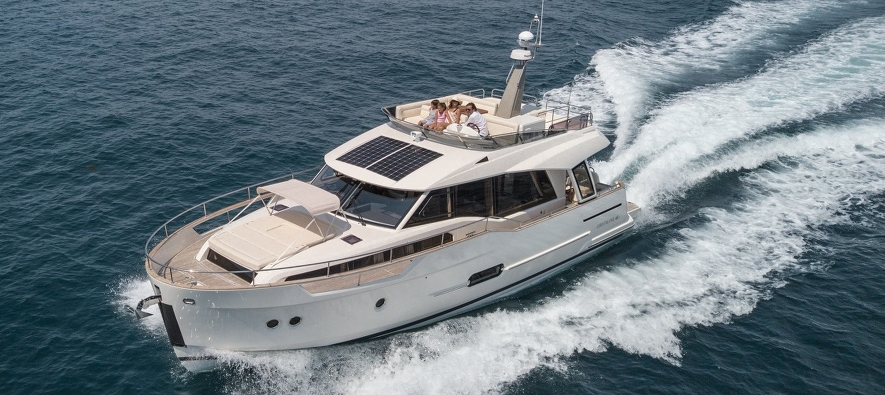 Greenline 48 Fly available for charter in Croatia