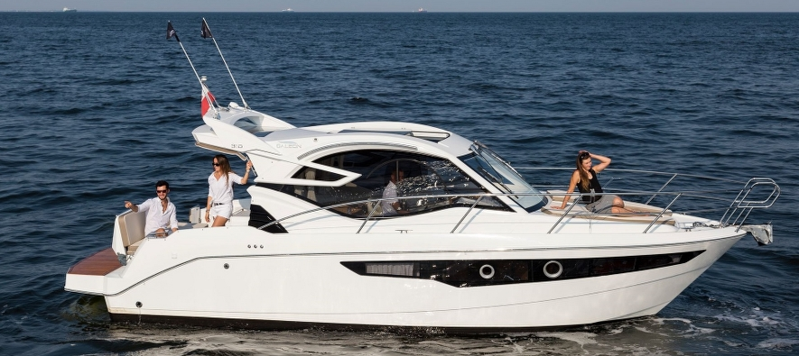 Galeon 310 HTC - Sleek and nimble boat to please all yacht enthusiasts