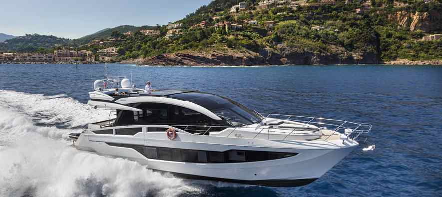The future of  luxury yachts Galeon 650 Skydeck